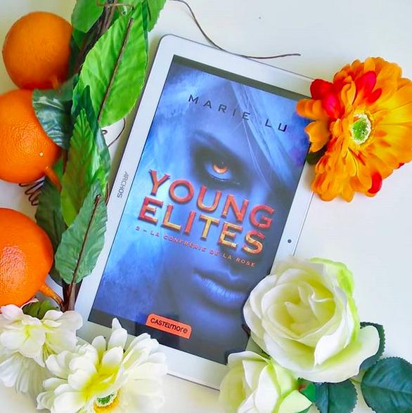 Chronique : Young Élites : La confrérie de la Rose de MarieLu